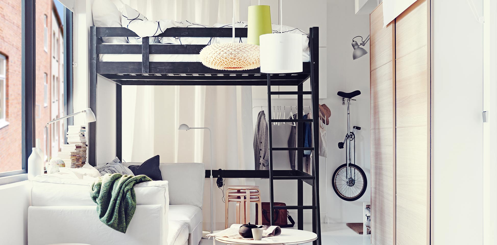 Идеи от икеа маленьких комнат фото
