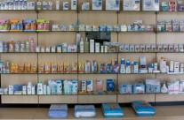 lineales, diseño de farmacia, mobiliario de farmacia