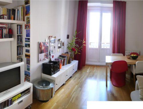 Apartamento reformado de un dormitorio en Malasaña