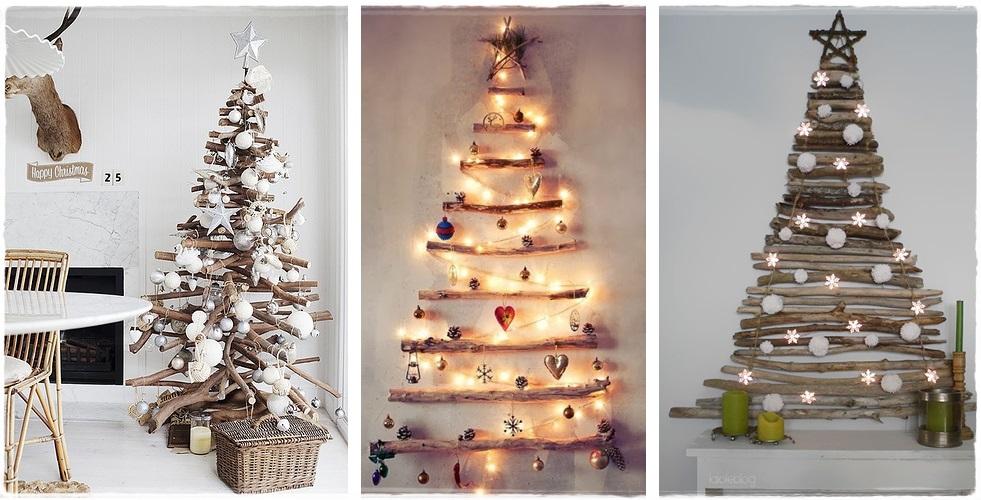 Arboles De Navidad Para Espacios Pequenos Decoracion Navidad - Ideas-arboles-de-navidad