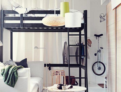 Minicasas, cómo organizar los espacios cuando tienes pocos metros cuadrados