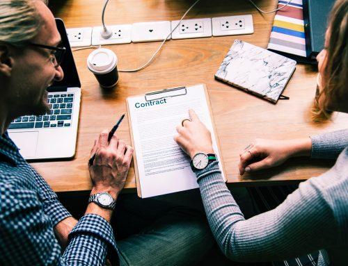 Los contratos con exclusiva y sin exclusiva de las agencias inmobiliarias