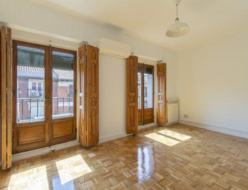 Apartamento reformado y luminoso con 2 balcones